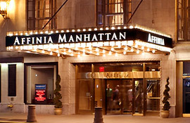 Affinia Manhattan entryway
