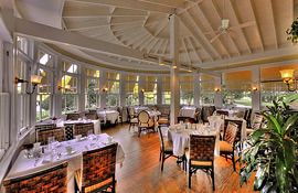 Jekyll Island Club Hotel dining room