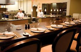 La Toretta Lake Resort & Spa chef's kitchen
