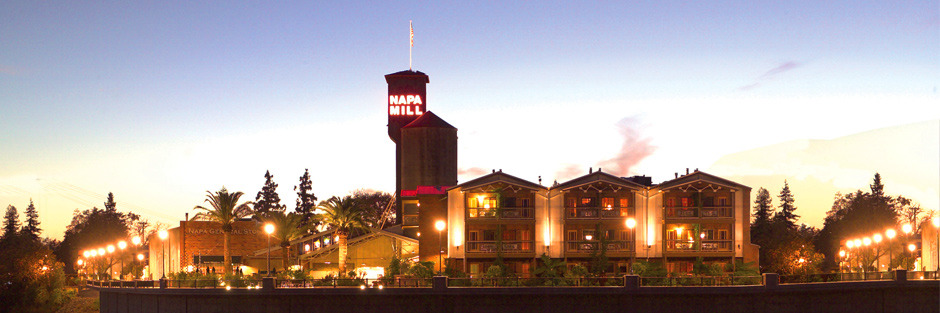 The Historic Napa Mill on the Napa River Walk